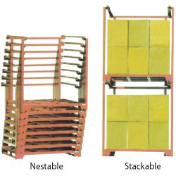 Metal Container Pallet Cages Stackable_resize
