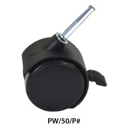 2 inches Plastic Wheel Caster PW50P#_resize