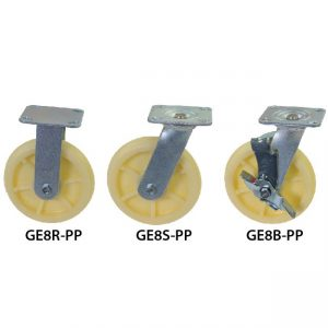 8 inches GLOBE Heavy Duty PP Wheel Castor GE8RSB-PP_resize