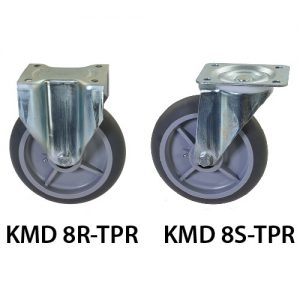 8 inches KMD TRP Wheel Castor KMD 8R-TPR_KMD 8S-TPR_resize