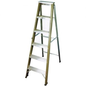 Aluminium Single Sided Heavy Duty Ladder_resize