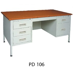 Office Steel Pedestal Desk PD106_resize