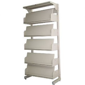 Steel School Library Periodical Shelving_resize